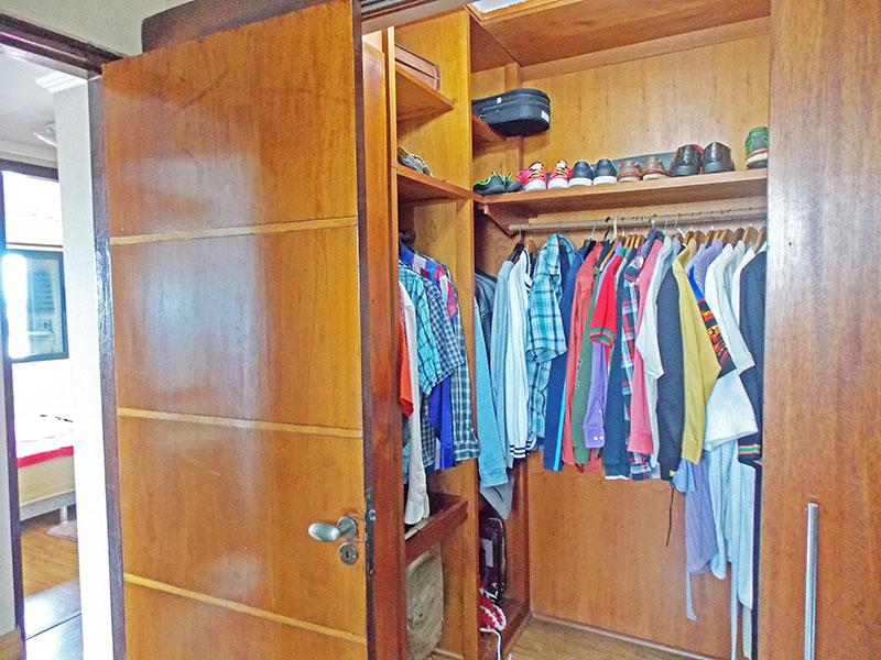 Jabaquara, Apartamento Padrão-Closet com piso de laminado.