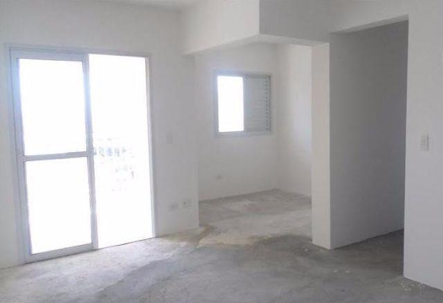 Sacomã, Apartamento Padrão - SALA AMPLIADA COM ACESSO À VARANDA.
