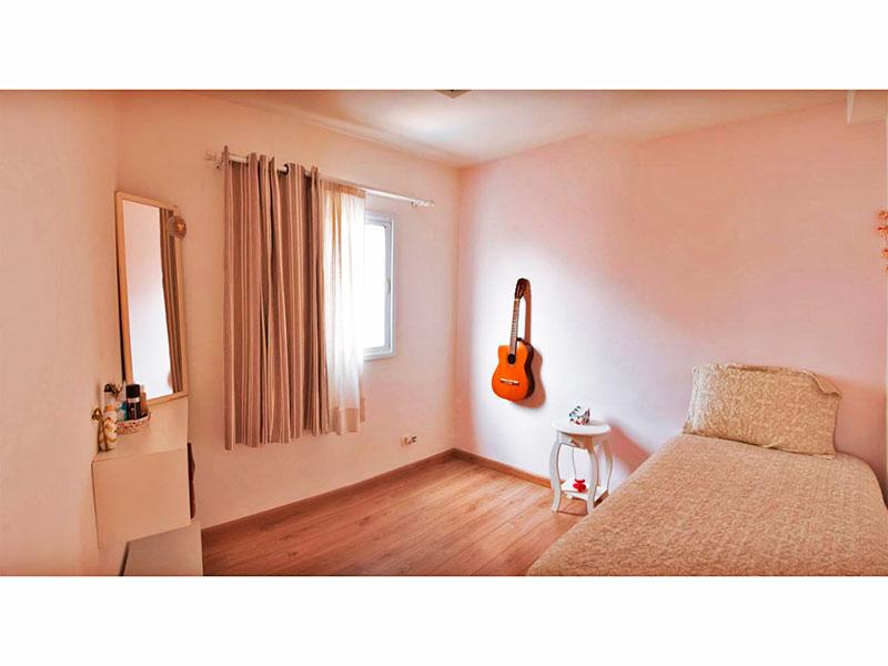 Sacomã, Apartamento Padrão-2º Quarto com piso de carpete de madeira.