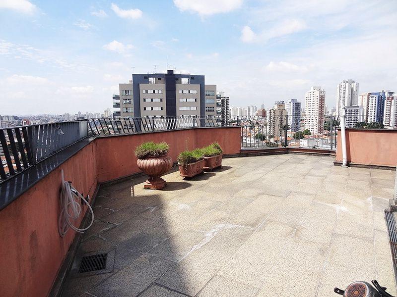 Ipiranga, Cobertura Duplex-Terraço descoberto com piso de cerâmica.