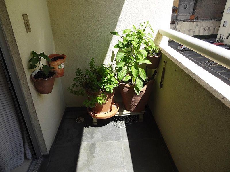 Sacomã, Apartamento Padrão-Varanda com piso de ardósia.