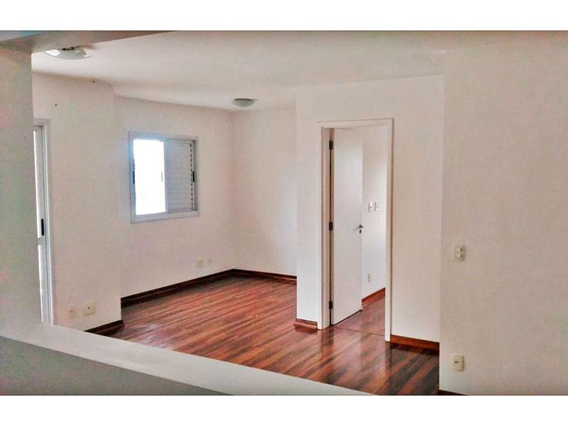 Sacomã, Apartamento Padrão - Sala ampliada (com o 3º quarto), com piso de laminado e acesso a varanda gourmet.