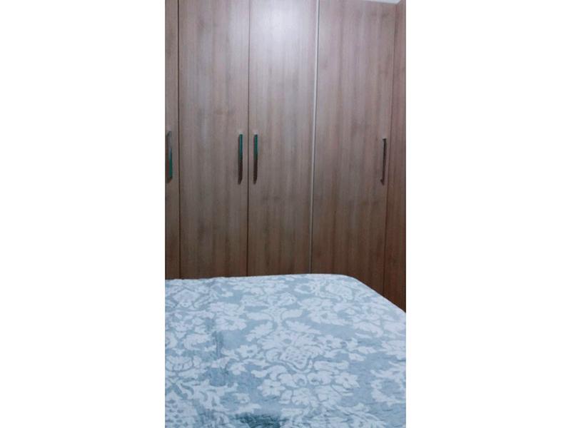 Sacomã, Apartamento Padrão-3º dormitório com piso laminado e armários planejados.