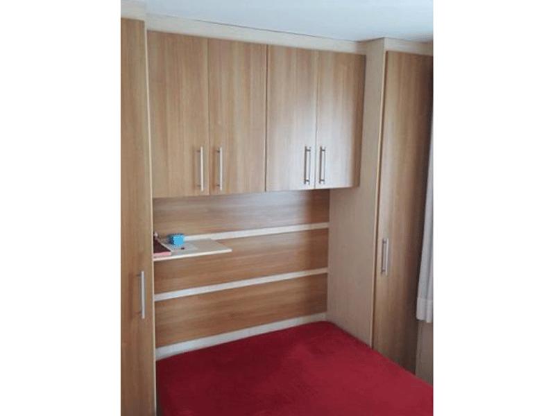 Sacomã, Apartamento Padrão-2º Dormitório com armários planejados.