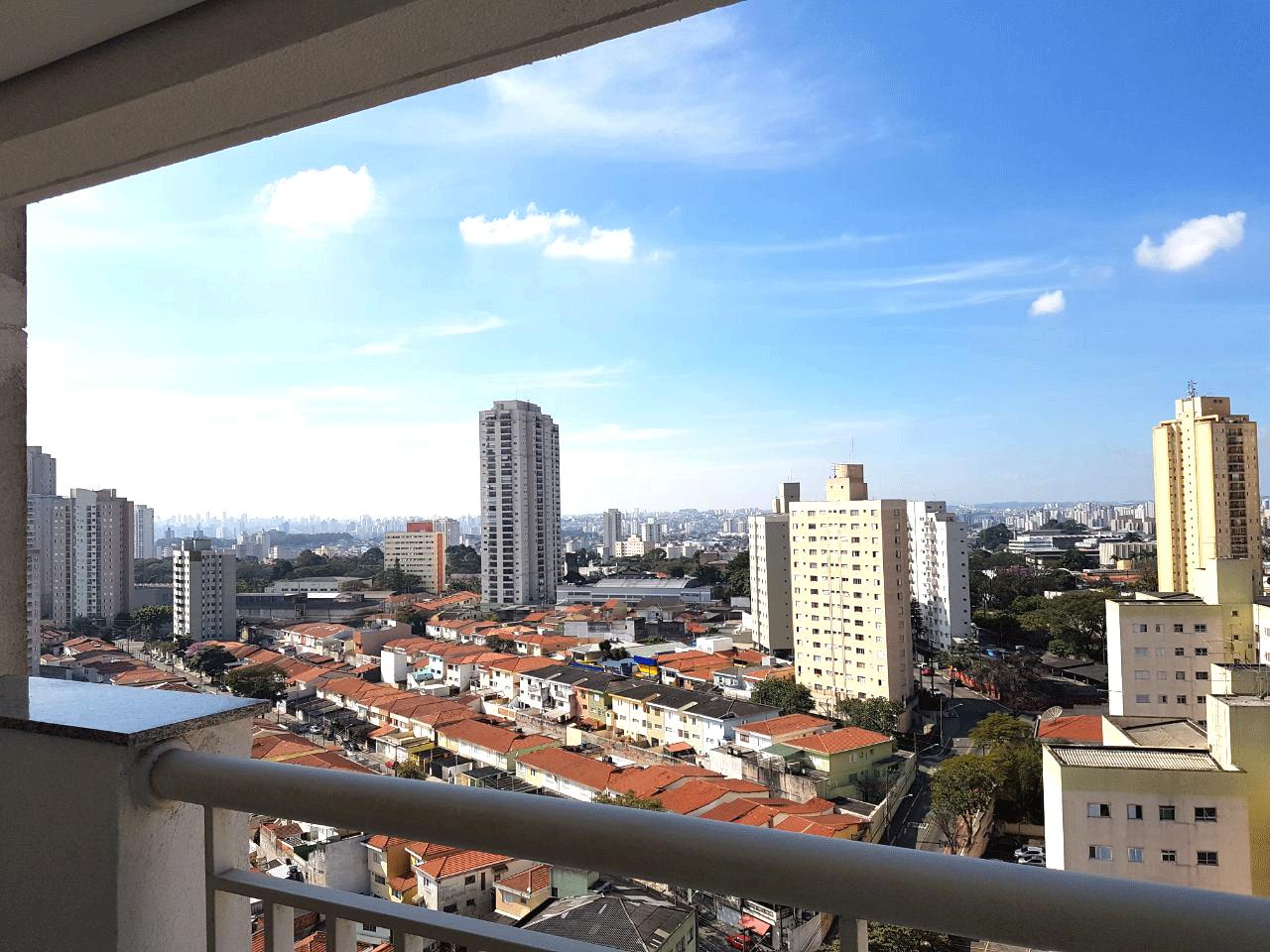 Sacomã, Apartamento Padrão-Vista da sacada