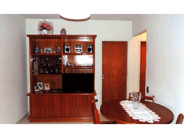 Sacomã, Apartamento Padrão - Sala com piso de porcelanato