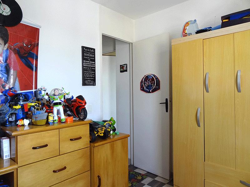 Jabaquara, Apartamento Padrão-2º dormitório com piso de paviflex.