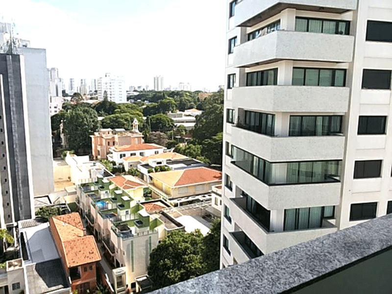 Ipiranga, Apartamento Padrão-Vista da sacada.
