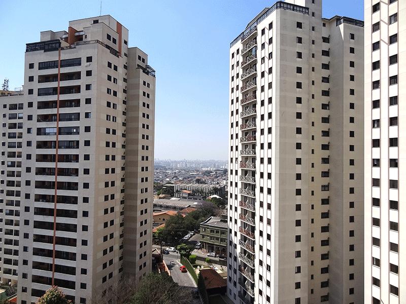 Sacomã, Apartamento Padrão-Vista da varanda.