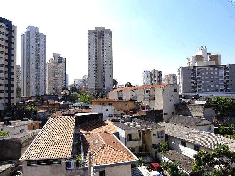 Jabaquara, Apartamento Padrão-Vista da sacada.