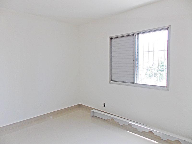 Ipiranga, Apartamento Padrão-2º Quarto com piso de porcelanato.