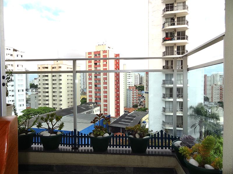 Jabaquara, Apartamento Padrão-Sacada com piso de ardósia.