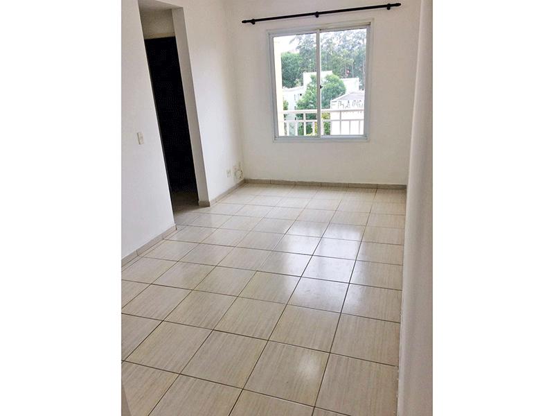 Sacomã, Apartamento Padrão - Sala com dois ambientes e piso de cerâmica.
