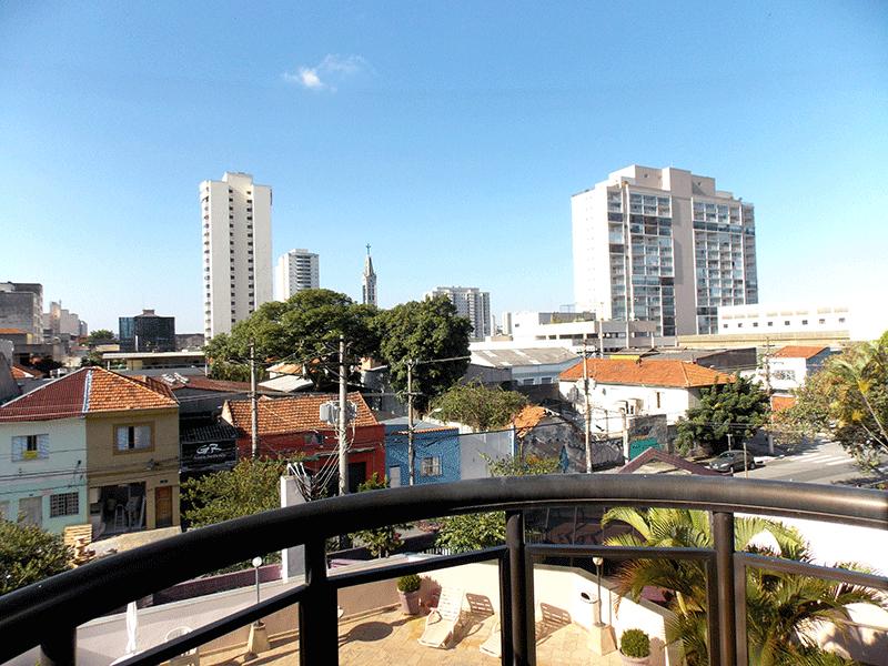Ipiranga, Apartamento Padrão-Sacada da suíte.