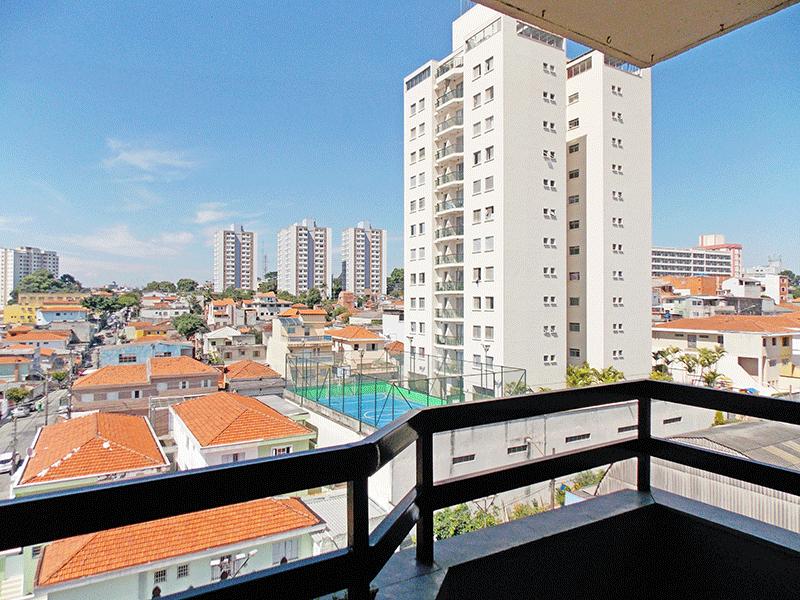 Jabaquara, Apartamento Padrão-Varanda com piso de ardósia.