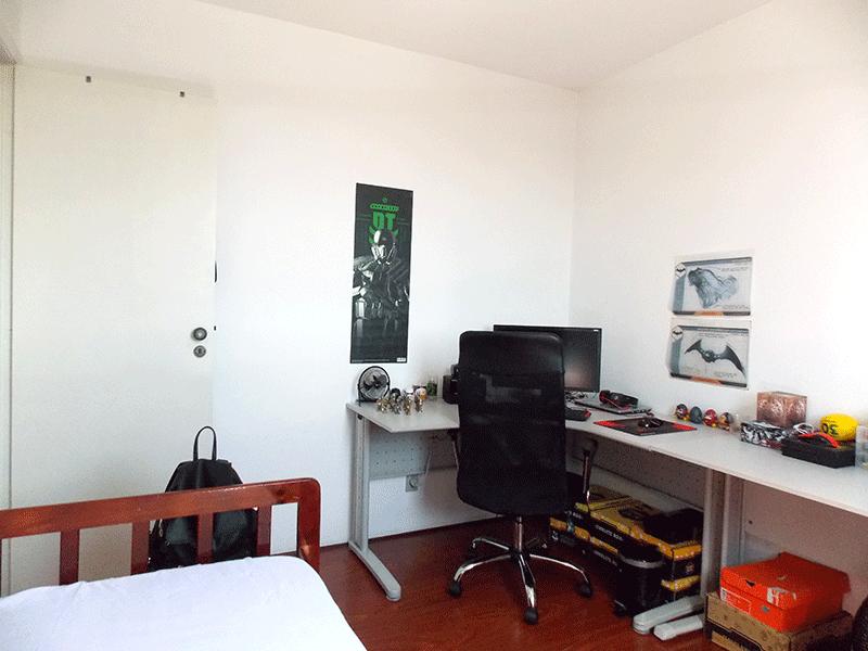 Jabaquara, Apartamento Padrão-2º dormitório com piso carpete de madeira.