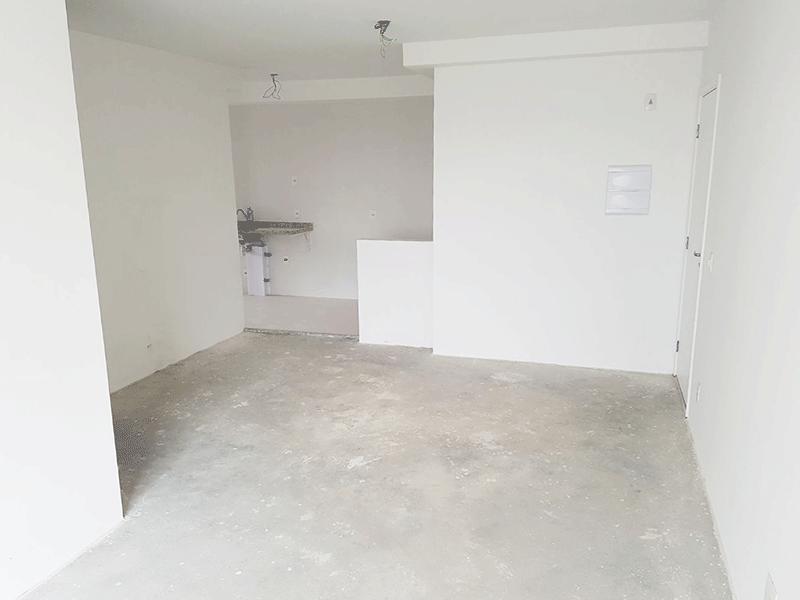 Ipiranga, Apartamento Padrão-Sala com dois ambientes no contra piso e acesso à sacada.