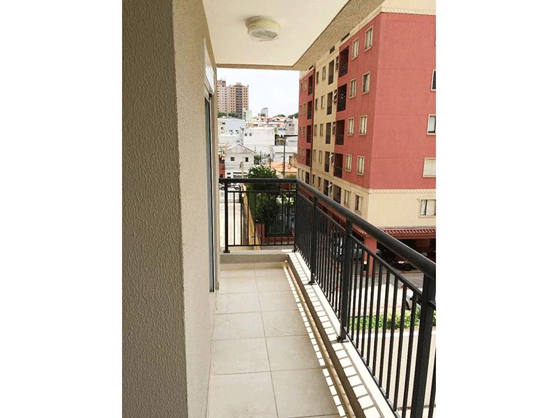 Ipiranga, Apartamento Padrão-Varanda gourmet com piso de cerâmica.