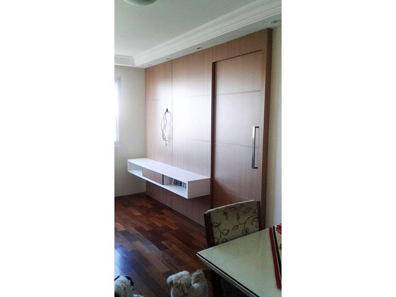 Sacomã, Apartamento Padrão-Sala com piso laminado, teto com sanca de gesso e iluminação embutida.2