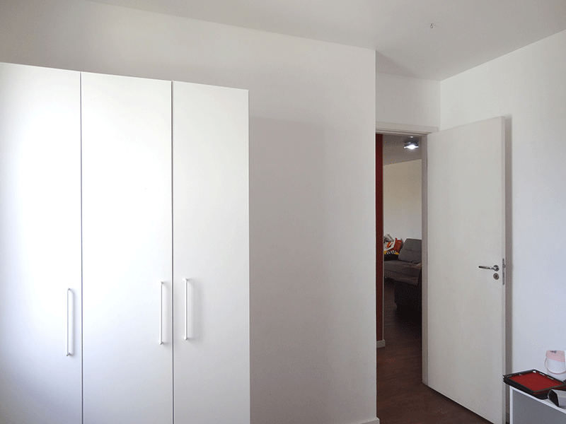 Jabaquara, Apartamento Padrão-2º dormitório com piso de porcelanato.