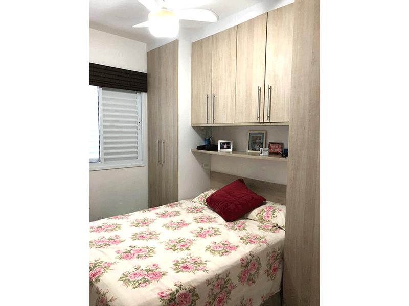 Ipiranga, Apartamento Padrão-2º dormitório com armários planejados.
