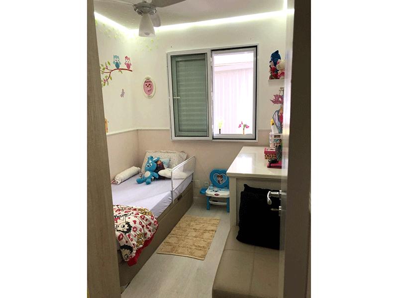 Ipiranga, Apartamento Padrão-3º dormitório com piso laminado, teto rebaixado e iluminação embutida.