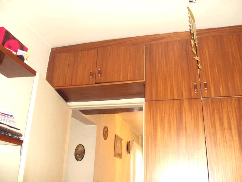 Jabaquara, Apartamento Padrão-2º dormitório com piso de madeira e armários planejados (Parte da sala transformada em 2º dormitório).
