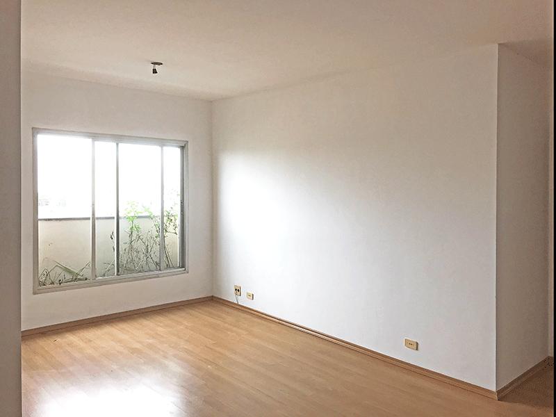 Ipiranga, Apartamento Padrão-1º dormitório com piso laminado.