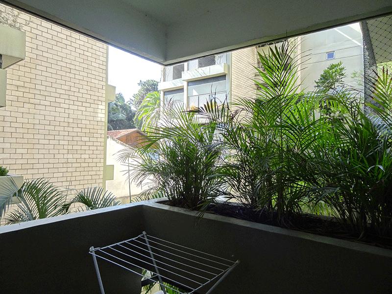 Jabaquara, Apartamento Padrão-Varanda com piso de granito.