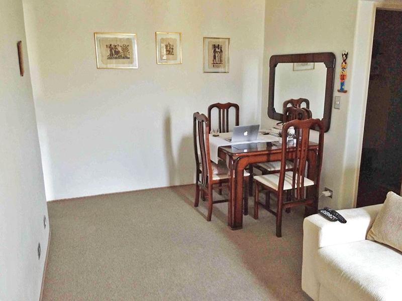 Sacomã, Apartamento Padrão-Sala com dois ambientes e piso de carpete.