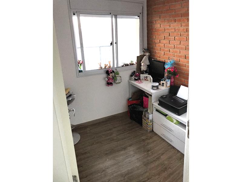 Ipiranga, Apartamento Padrão-3º dormitório com piso laminado.