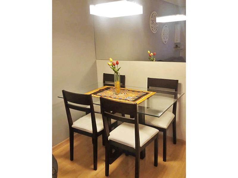 Sacomã, Apartamento Padrão-Sala com dois ambientes, piso laminado, teto rebaixado e iluminação embutida.