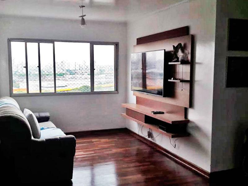 Ipiranga, Apartamento Padrão - SALA COM DOIS AMBIENTES, DE MADEIRA E TETO COM MOLDURA DE GESSO.