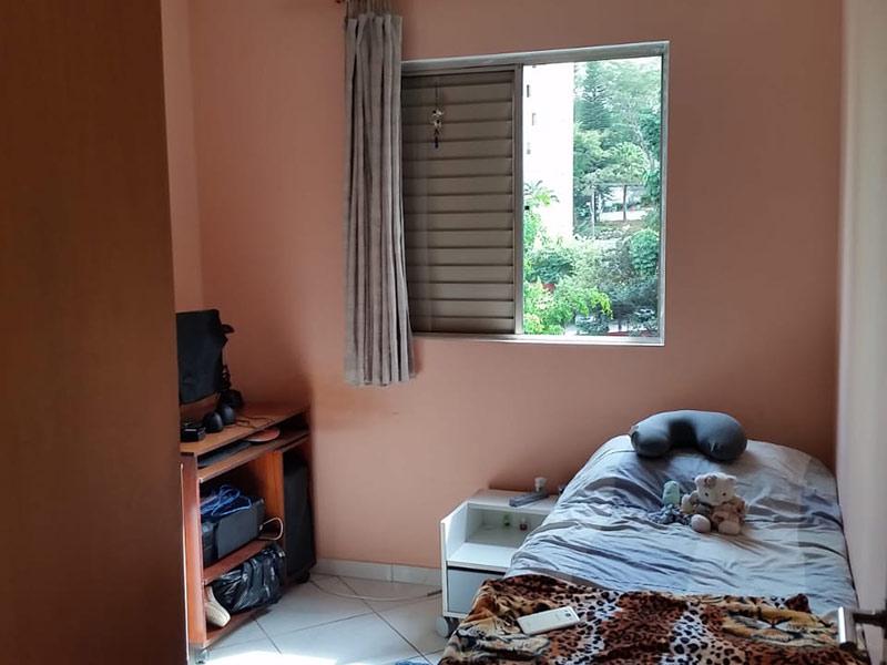 Sacomã, Apartamento Padrão-2º dormitório com piso de cerâmica.