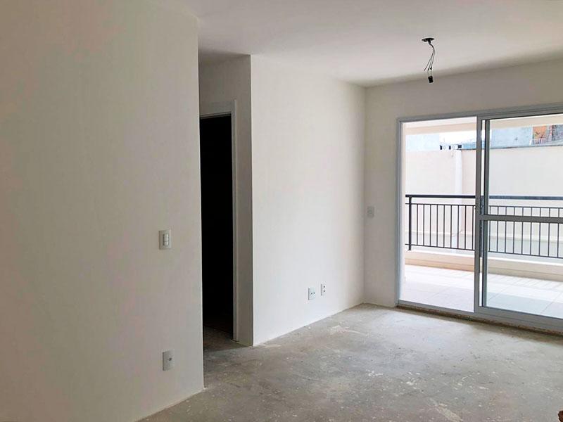 Ipiranga, Apartamento Padrão - Sala em L no contrapiso com acesso a varanda.