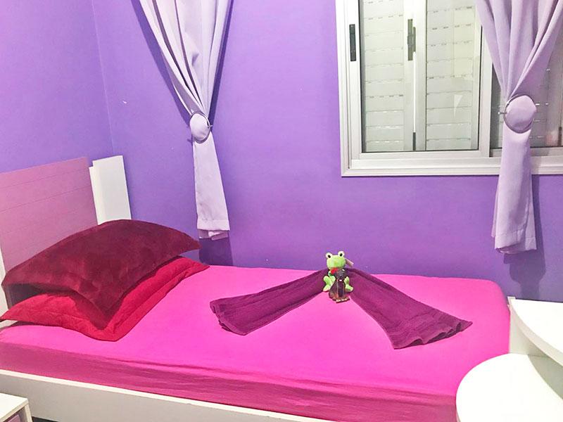 Sacomã, Apartamento Padrão-2º Dormitório com piso de granito e armários planejados.