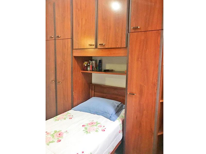 Sacomã, Apartamento Padrão-3º Dormitório com piso de granito e armários planejados.