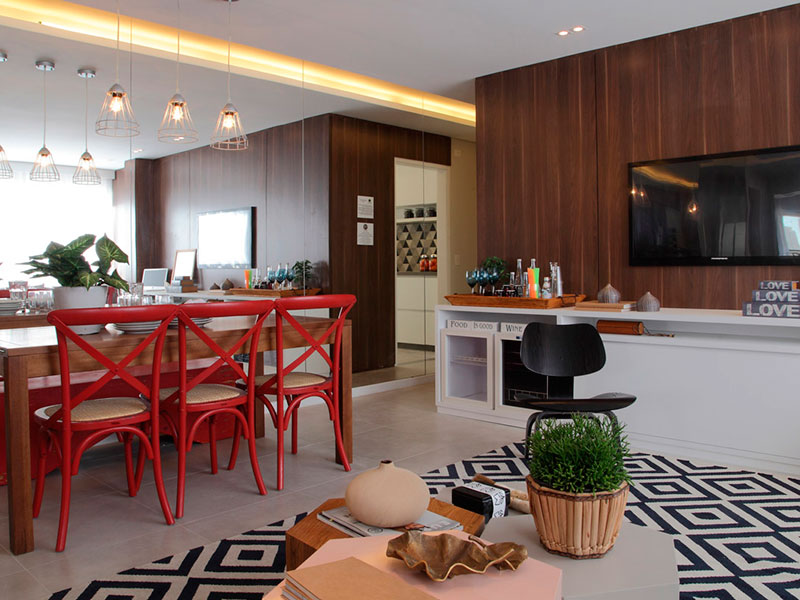 Saúde, Apartamento Padrão - Apartamento novo no contra piso (Fotos do decorado).