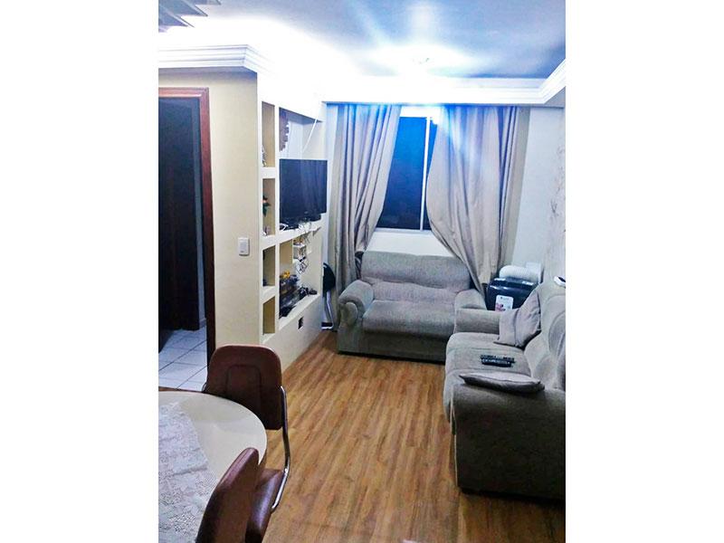 Jabaquara, Apartamento Padrão-Sala retangular com piso laminado, teto com sanca de gesso.