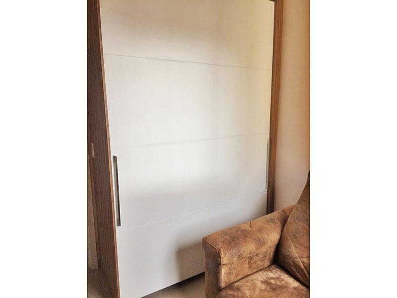 Sacomã, Apartamento Padrão-3º Quarto com piso de porcelanato e armários planejados.