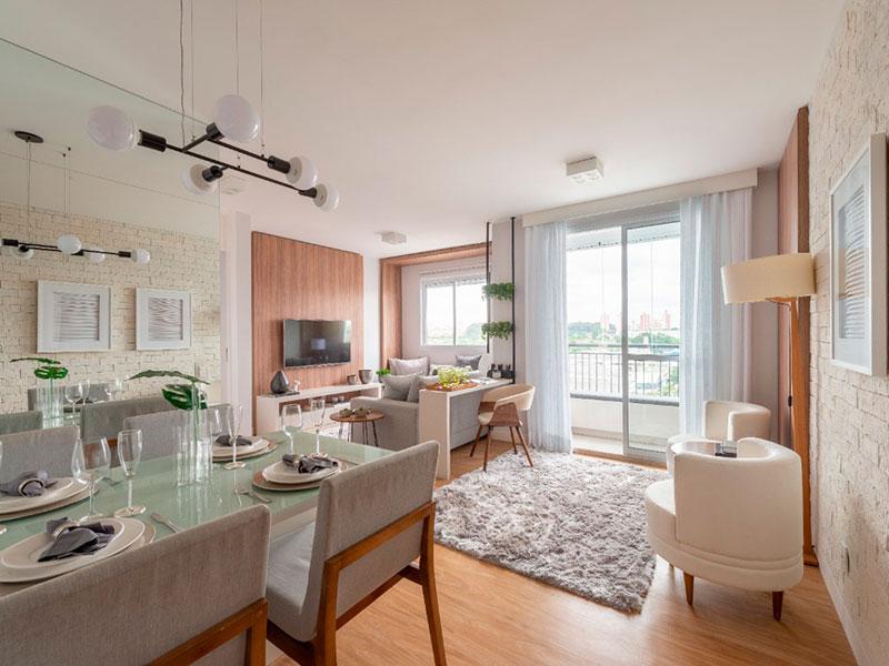 Ipiranga, Apartamento Padrão - Apartamento novo no contrapiso (fotos do decorado).