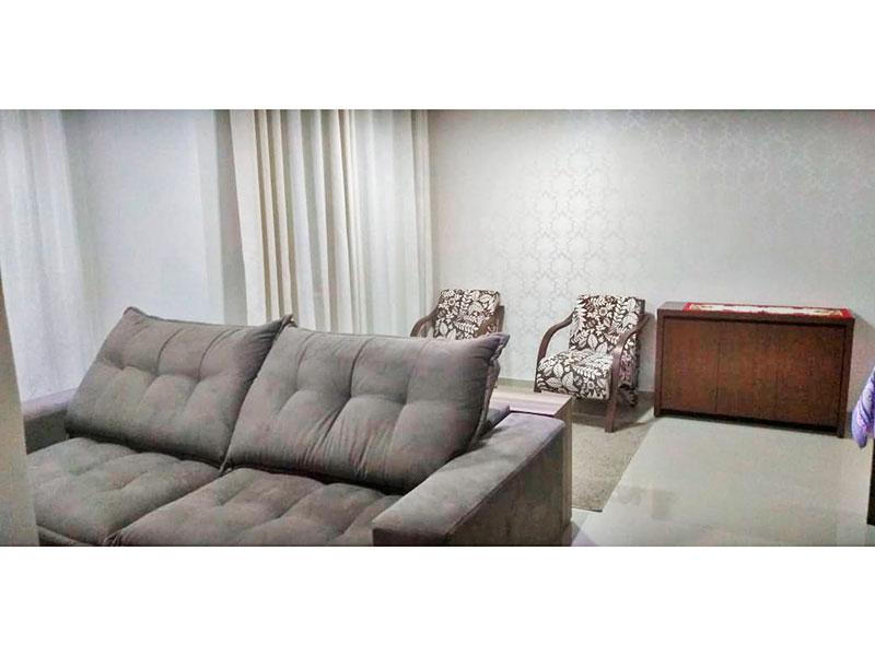 Jabaquara, Apartamento Padrão-Sala em L ampliada (com o 3º quarto), com piso de porcelanato, teto com sanca, iluminação embutida e acesso a varanda.