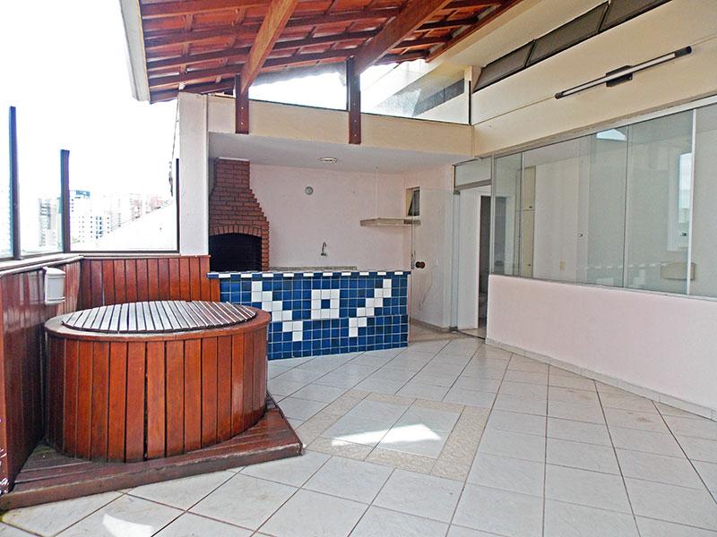 Jabaquara, Cobertura Duplex-Cobertura com banheira de Hidromassagem e área gourmet.