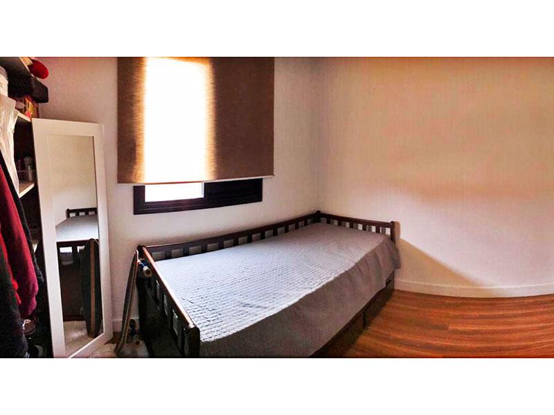 Sacomã, Apartamento Padrão-2º Quarto com piso de laminado e teto com sanca.