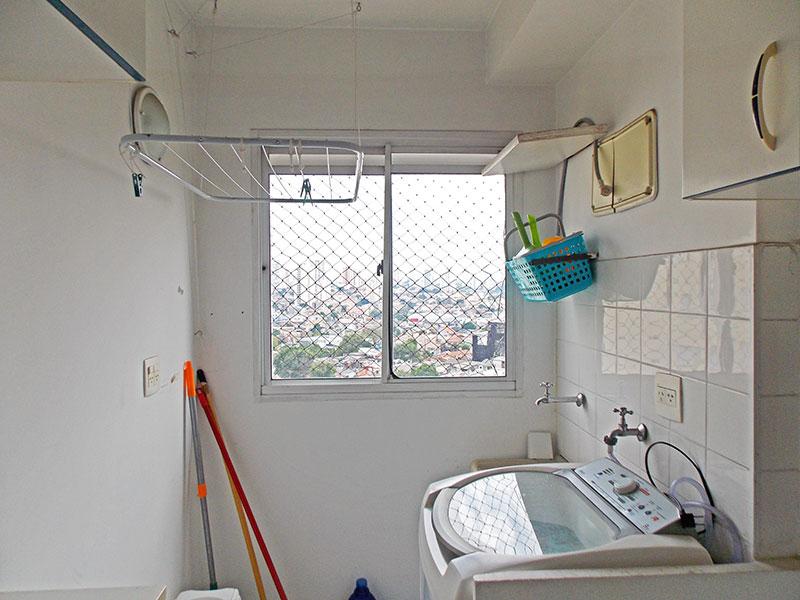 Sacomã, Apartamento Padrão-Área de serviço com piso de cerâmica.