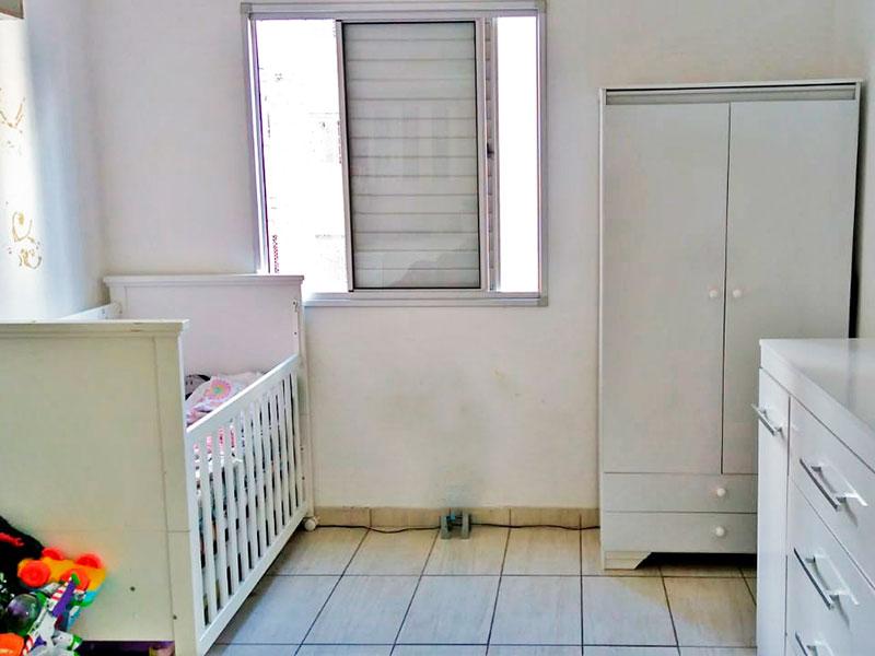 Sacomã, Apartamento Padrão-3º Quarto com piso de cerâmica.
