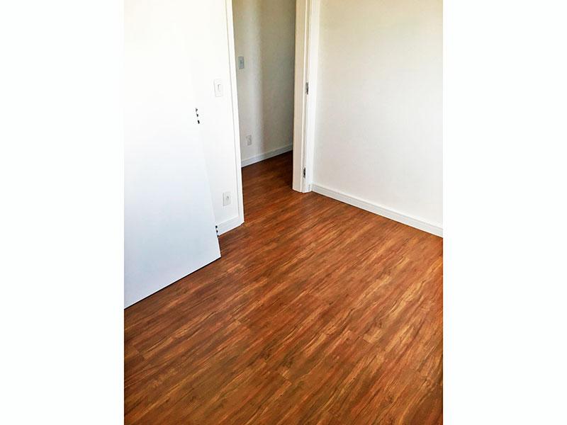 Jabaquara, Cobertura Duplex-2º Quarto com piso laminado.
