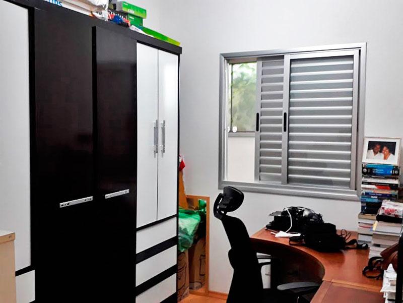 Sacomã, Apartamento Garden-2º Quarto com piso laminado.