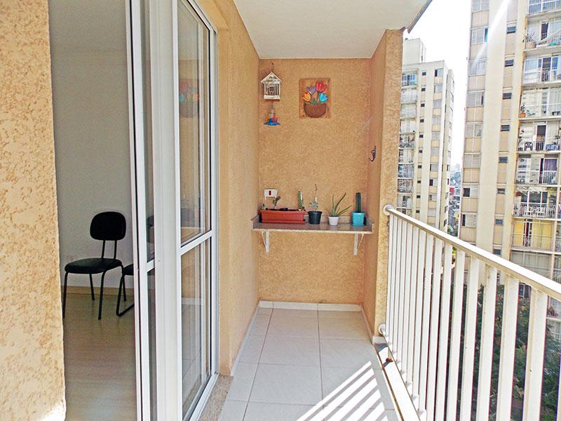 Sacomã, Apartamento Padrão-Varanda gourmet com piso de cerâmica.